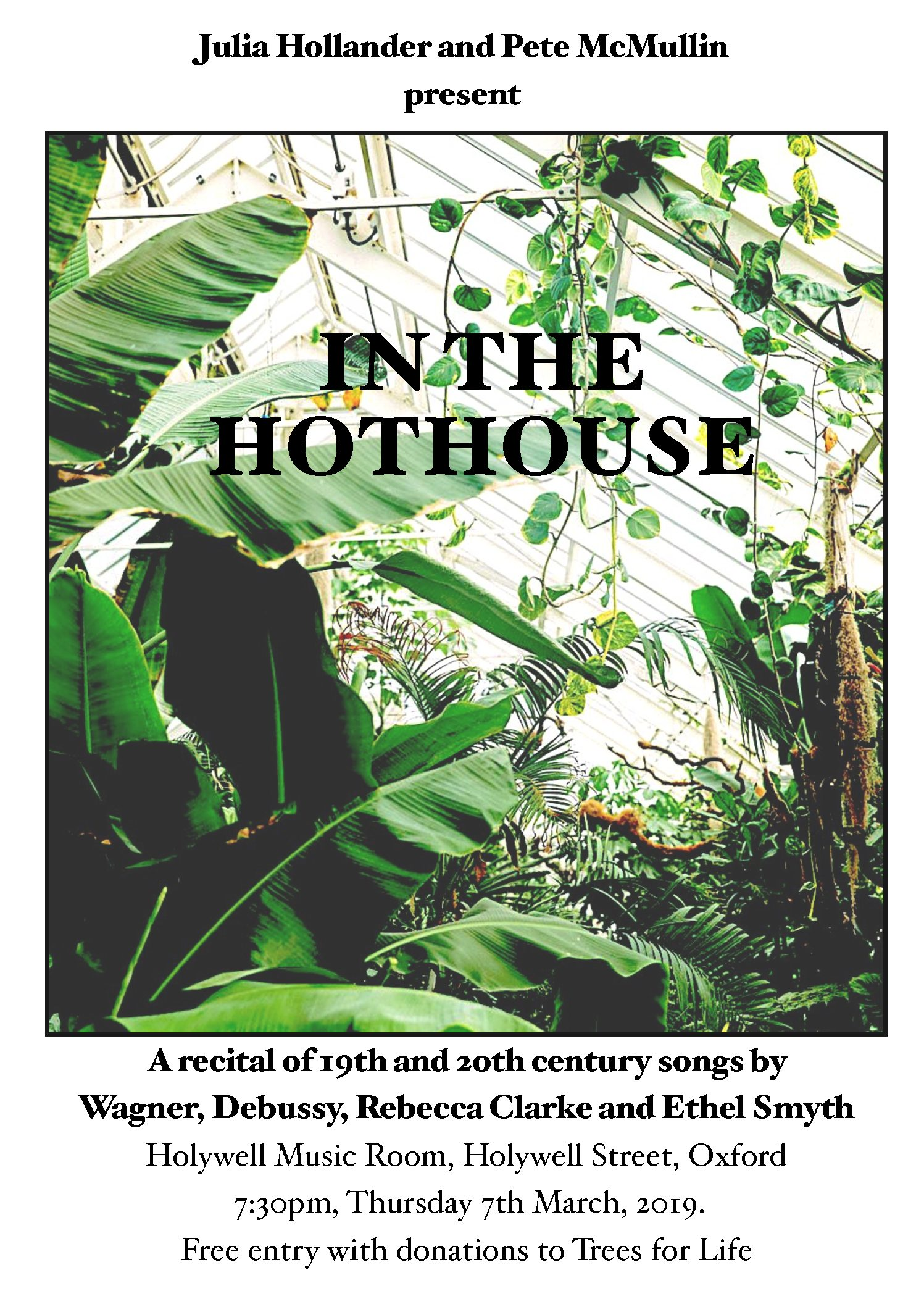 In the hothouse – concert march 7
